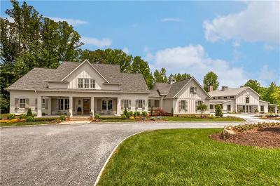 Canton Single Family Home For Sale: 124 Trinity Farm Drive