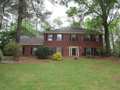 Marietta Single Family Home For Sale: 3713 Bramblewood Way