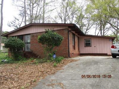 Single Family Home For Sale: 2970 Horse Shoe Drive SE