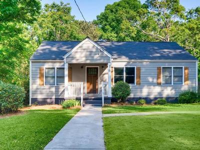 Atlanta Single Family Home For Sale: 477 S Howard Street