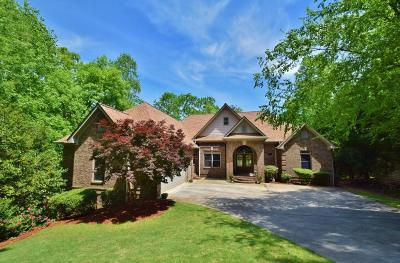 Dawsonville Single Family Home For Sale: 6225 Autumn Court