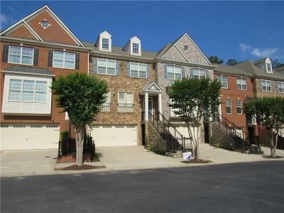 Roswell  Condo/Townhouse For Sale: 6012 Manchester Circle