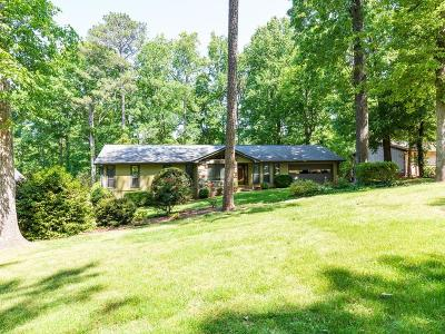 Lilburn Single Family Home For Sale: 4527 Town Crier Road SW