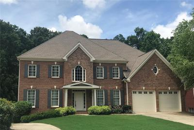 Acworth Single Family Home For Sale: 1385 Benbrooke Lane NW