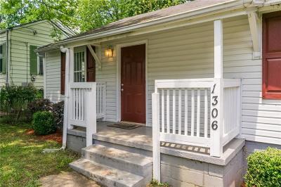 Atlanta Single Family Home For Sale: 1306 Wylie Street SE
