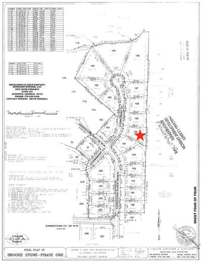 Paulding County Residential Lots & Land For Sale: 166 Stonemont Court