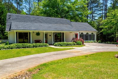 Powder Springs Single Family Home For Sale: 5833 Hill Road