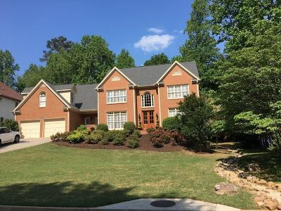 Roswell Single Family Home For Sale: 12235 Asbury Park Drive