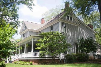 Cartersville Single Family Home For Sale: 223 W Cherokee Avenue