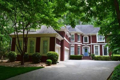 Alpharetta Single Family Home For Sale: 135 Hopewell Grove Drive