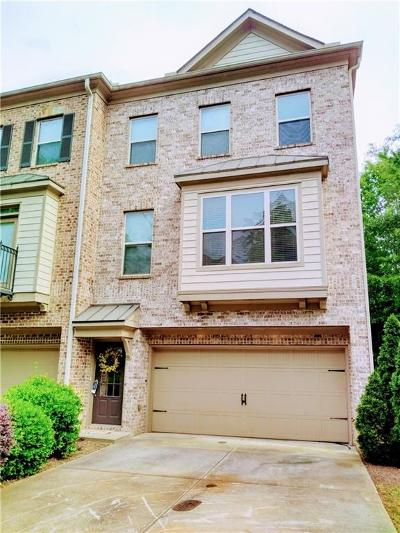 Suwanee Condo/Townhouse For Sale: 259 Bell Grove Lane