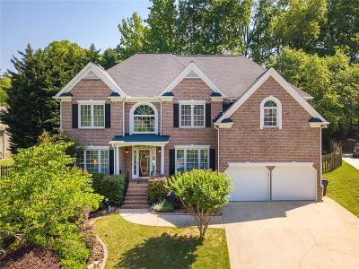 Acworth Single Family Home For Sale: 5400 Hedge Brooke Cove NW
