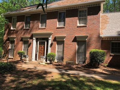Roswell Single Family Home For Sale: 755 Upper Hembree Road