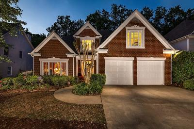 Marietta Single Family Home For Sale: 1707 Glen Echo Way