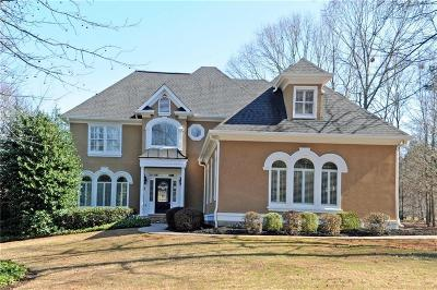Alpharetta Single Family Home For Sale: 14455 Eighteenth Fairway