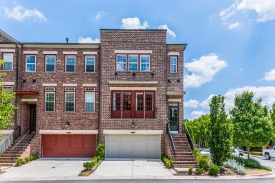 Dunwoody Condo/Townhouse For Sale: 4751 Laurel Walk