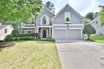 Duluth Single Family Home For Sale: 4210 Canterbury Walk Drive