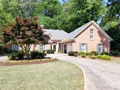 Marietta Single Family Home For Sale: 581 Hardage Farm Drive NW