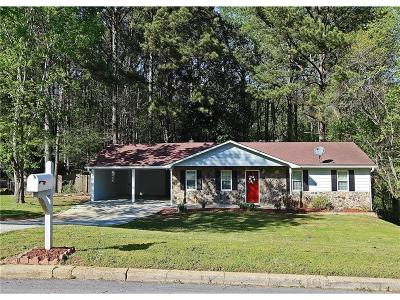Snellville Single Family Home For Sale: 3364 Newcastle Way