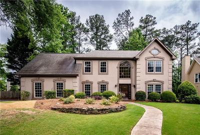Alpharetta  Single Family Home For Sale: 11730 Windbrooke Way