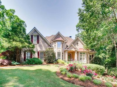 Kennesaw Single Family Home For Sale: 4117 Brigade Trail NW