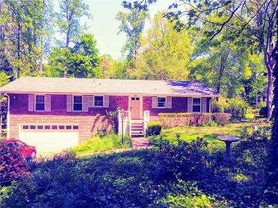Lithia Springs Single Family Home For Sale: 3157 Beechwood Drive