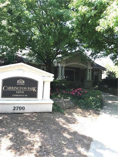 Atlanta Condo/Townhouse For Sale: 2700 Pine Tree Road NE #1302
