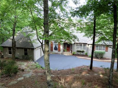 Big Canoe Single Family Home For Sale: 102 Summit Drive W