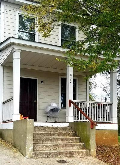 Single Family Home For Sale: 632 Smith Street SW