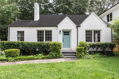Atlanta Single Family Home For Sale: 2837 Tupelo Street SE