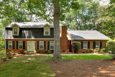 Marietta Single Family Home For Sale: 1257 Independence Way SW