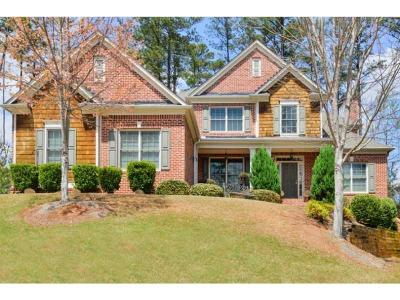 Kennesaw Single Family Home For Sale: 1632 Climbing Rose Court NW