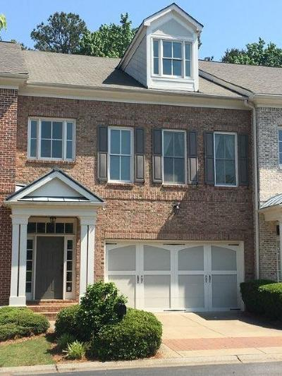 Johns Creek Condo/Townhouse For Sale: 6074 Narcissa Place