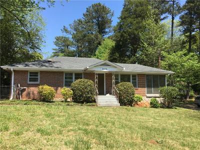Atlanta GA Single Family Home For Sale: $199,500
