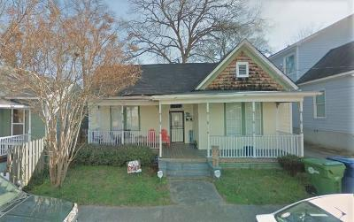 Old Fourth Ward Single Family Home For Sale: 74 Lucy Street SE