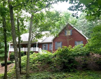 Cherokee County Single Family Home For Sale: 245 Sutallee Ridge Lane NE