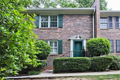 Decatur Condo/Townhouse For Sale: 1105 Clairemont Avenue #K