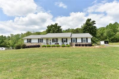 Forsyth County Single Family Home For Sale: 1515 Dahlonega Highway