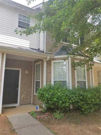 Conyers Condo/Townhouse For Sale: 225 Odyssey Turn NW