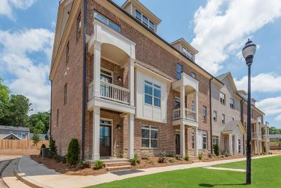 Smyrna Condo/Townhouse For Sale: 1288 Stone Castle Circle #23