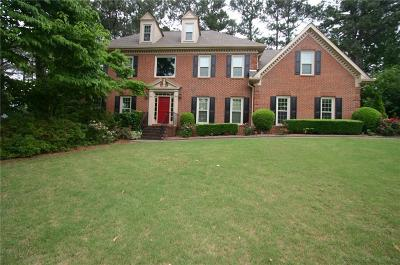 Alpharetta Single Family Home For Sale: 3300 Lord N Lady Lane