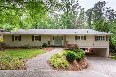 Single Family Home For Sale: 3240 Pinestream Road NW