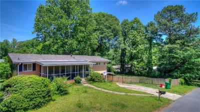 Brookhaven Single Family Home For Sale: 1538 N Druid Hills Road NE