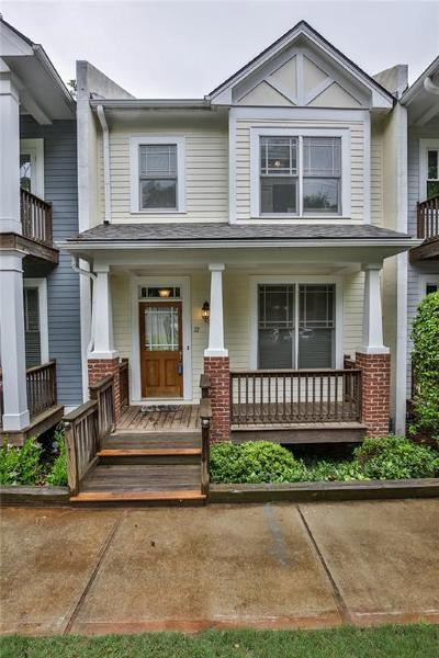 Decatur Condo/Townhouse For Sale: 12 Oakhurst Terrace