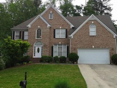 Lilburn Single Family Home For Sale: 4351 Weston Drive SW