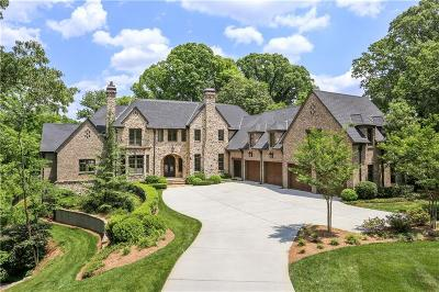 Alpharetta, Atlanta, Dunwoody, Johns Creek, Milton, Roswell, Sandy Springs Single Family Home For Sale: 1155 W Conway Drive NW