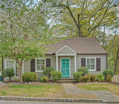 Single Family Home For Sale: 2427 Shenandoah Avenue NE