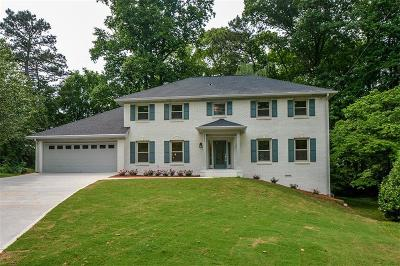 Dunwoody Single Family Home For Sale: 5390 Northchester Court