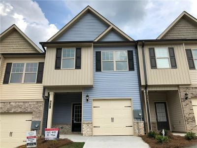 Winder Condo/Townhouse For Sale: 1704 Snapping Court