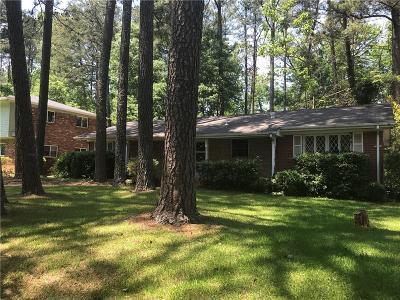 Atlanta Single Family Home For Sale: 3495 Lenardo Drive SW